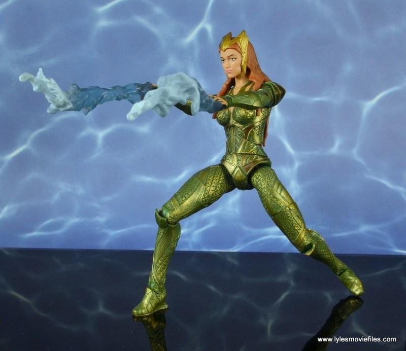 dc multiverse mera figure review - water spray