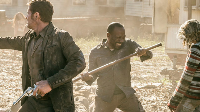 fear the walking dead what's your story - john and morgan
