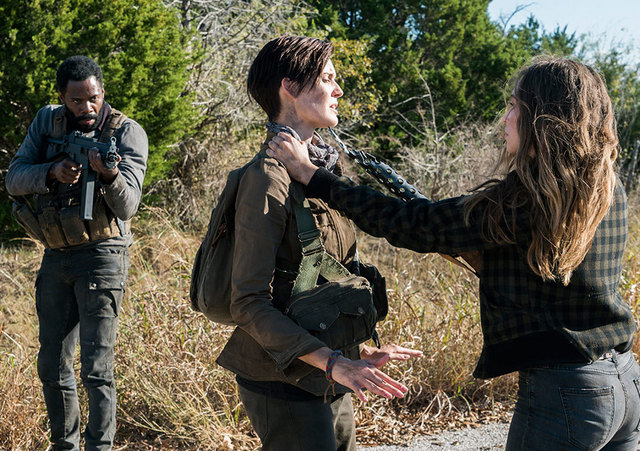 fear the walking dead what's your story -strand, althea and alicia