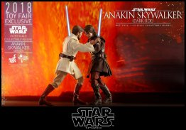 hot toys dark side anakin skywalker figure -grappling