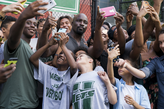 luke cage straighten it out - luke and his fans