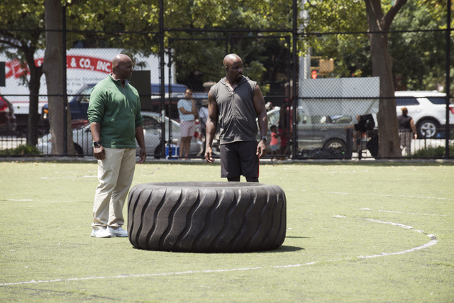 luke cage straighten it out - todd bowles and mike colter