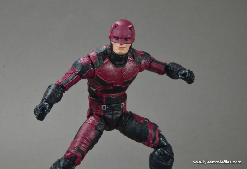 marvel legends netflix daredevil figure review -ready to fight