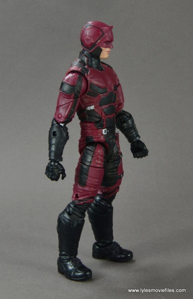 marvel legends netflix daredevil figure review -right side