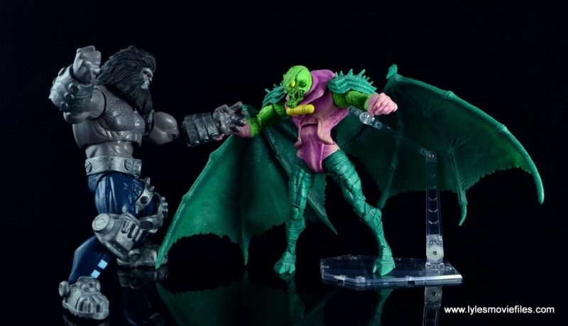 marvel legends the thanos imperative sdcc set review - blastaar vs annihilus