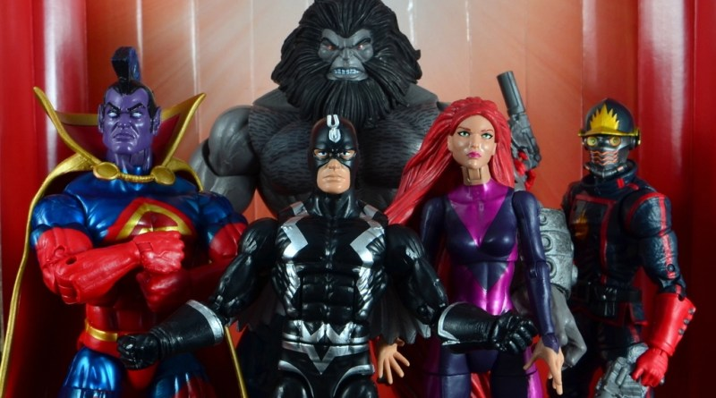 marvel legends the thanos imperative sdcc set review - main pic