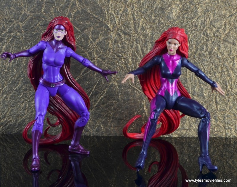 marvel legends the thanos imperative sdcc set review - medusa action pose