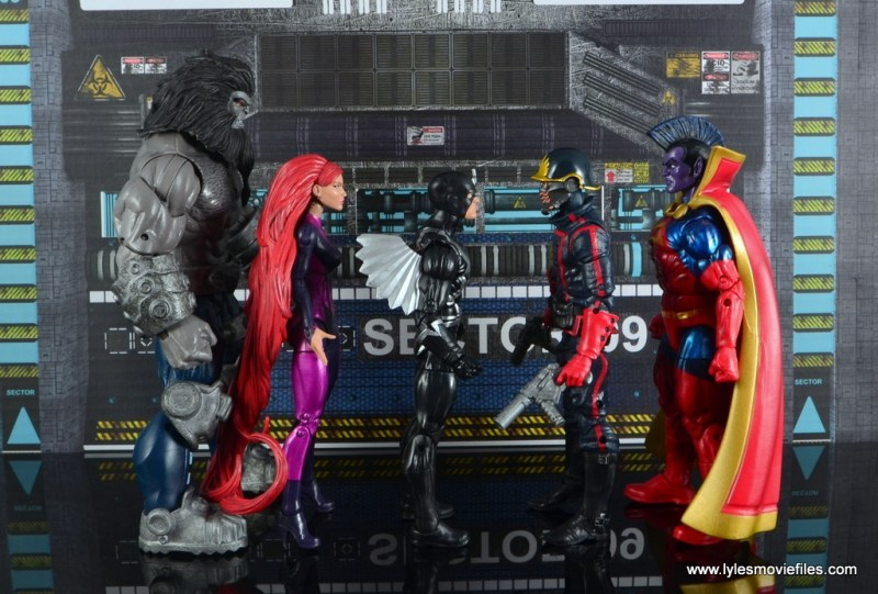 marvel legends the thanos imperative sdcc set review - scale with each other