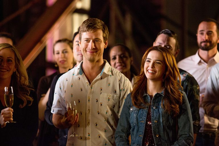 set it up movie review - glen powell and zoey deutch