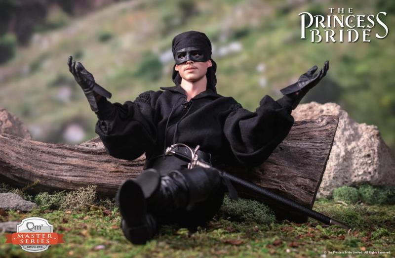 the princess bride the dread pirate roberts figure -leaning back
