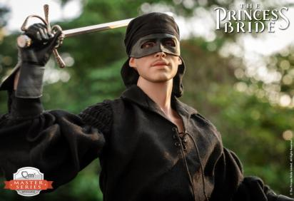 the princess bride the dread pirate roberts figure -sword up