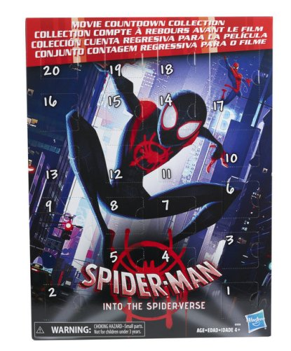 MARVEL SPIDER MAN INTO THE SPIDER-VERSE COUNTDOWN COLLECTION