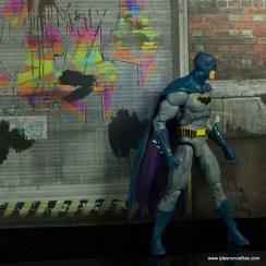 dc essentials batman figure review -peering around the corner