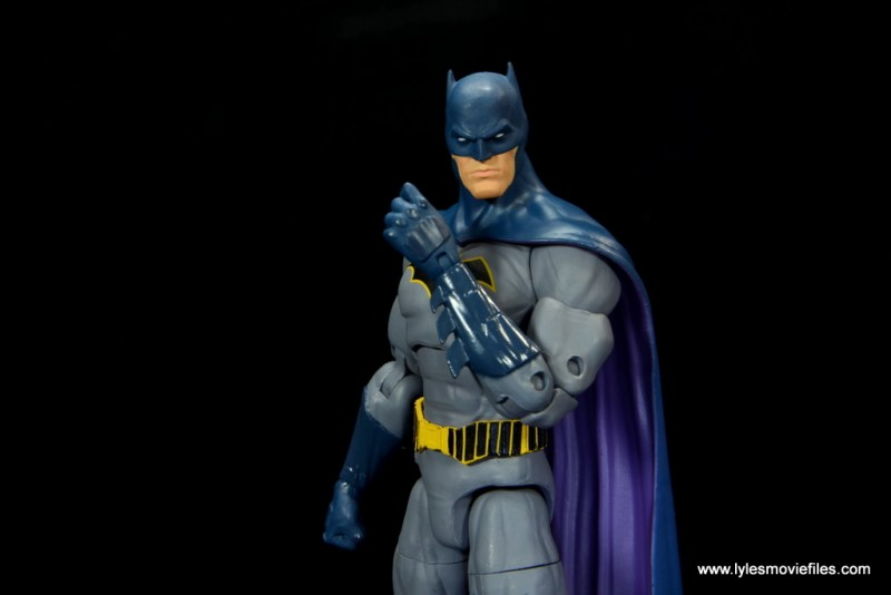dc essentials batman figure review -raising fist