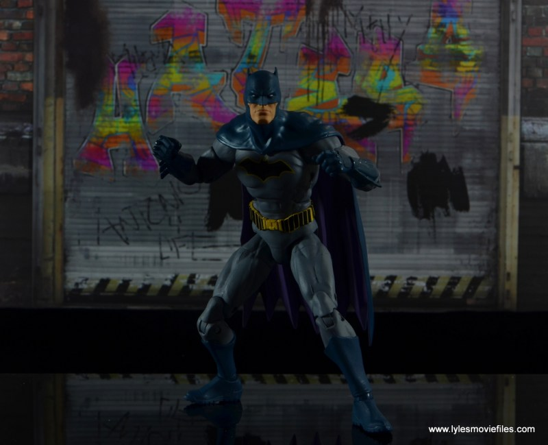 dc essentials batman figure review -ready for an alley fight