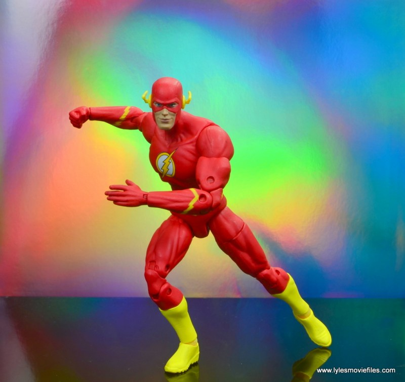 dc essentials the flash figure review -about to run off