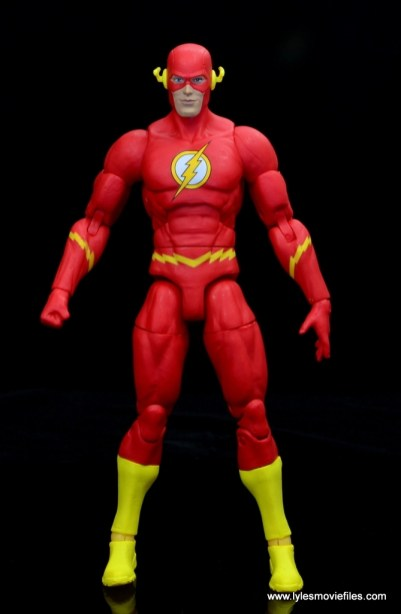 dc essentials the flash figure review - front