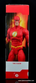 dc essentials the flash figure review - package side