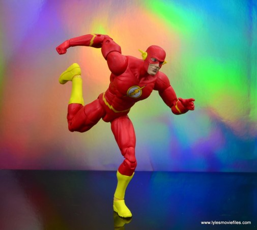dc essentials the flash figure review -racing through the speed force