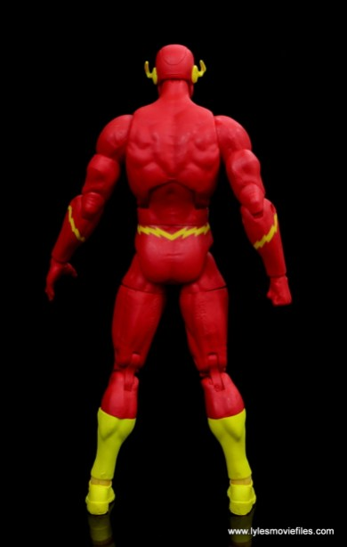 dc essentials the flash figure review - rear