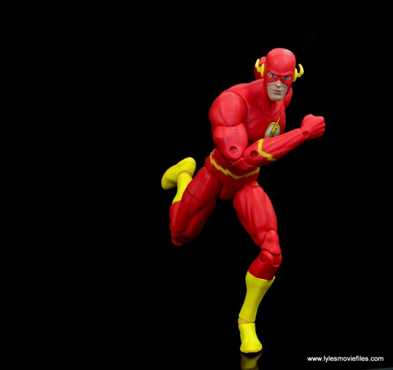 dc essentials the flash figure review -running