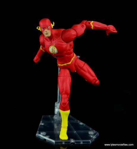 dc essentials the flash figure review -taking off