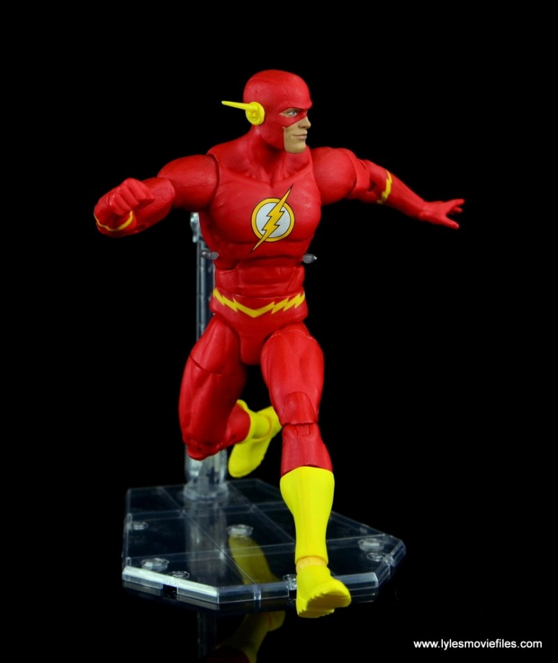 dc essentials the flash figure review - taking off
