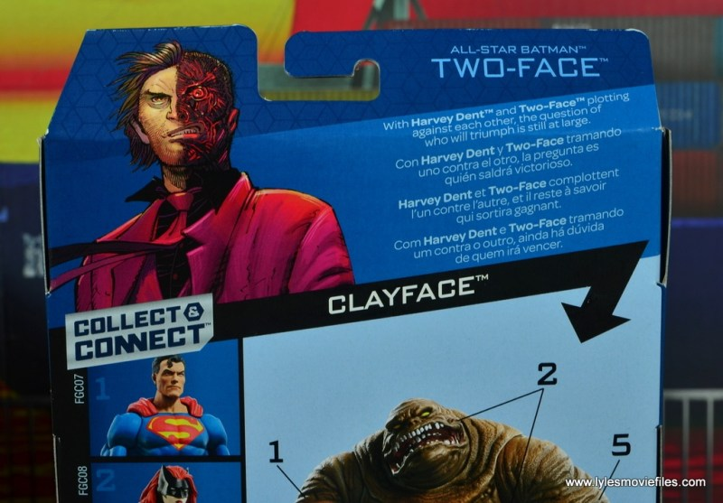 dc multiverse two-face figure review -bio