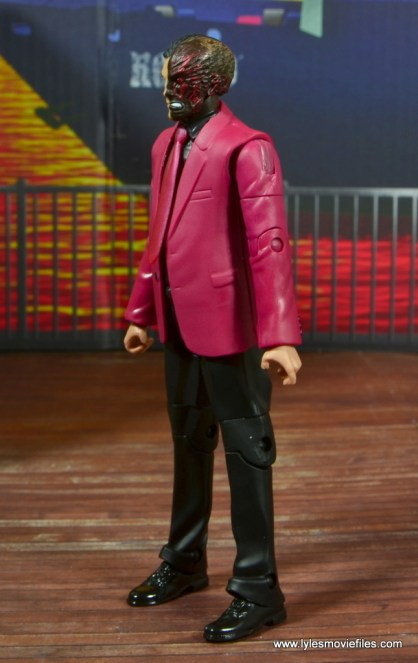 dc multiverse two-face figure review -left side
