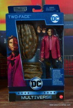 dc multiverse two-face figure review - package front