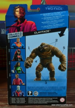 dc multiverse two-face figure review -package rear