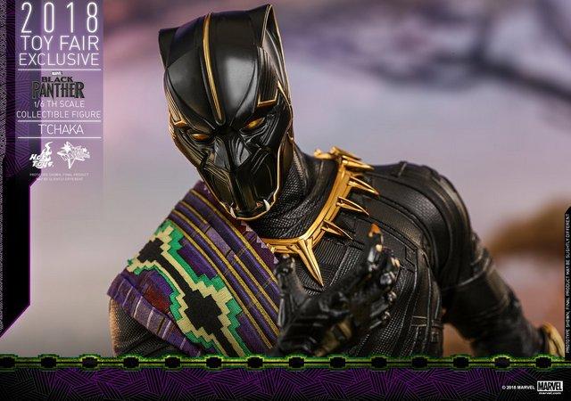 hot toys black panther t'chaka figure -main pic
