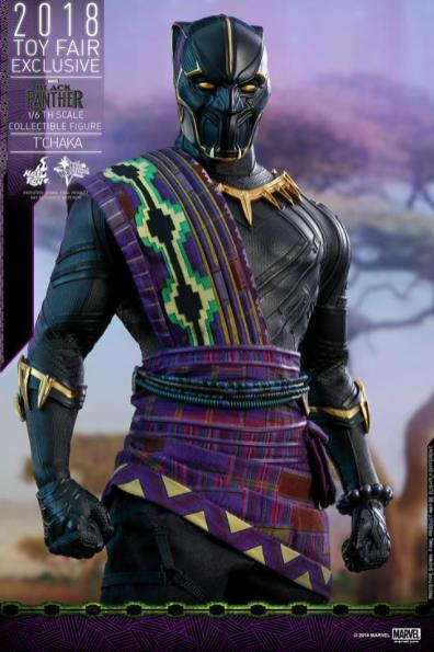 hot toys black panther t'chaka figure -outfit detail
