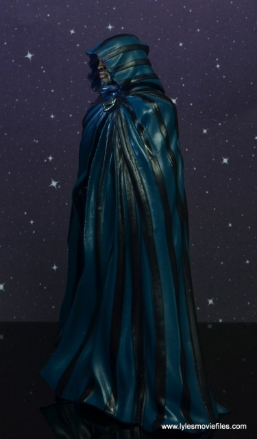 marvel legends cloak and dagger figure review - cloak left side
