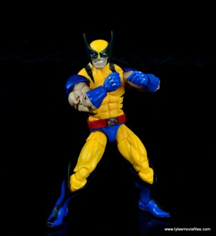 marvel legends wolverine figure review - ready for a fight