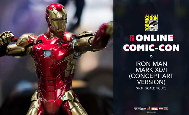 sdcc 2018 hot toys reveals -iron man mark xlvi