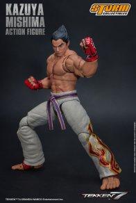 storm collectibles kazuya mishima figure - fighting stance