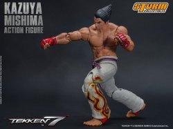 storm collectibles kazuya mishima figure -straight punch