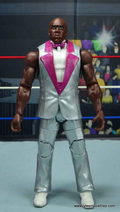wwe elite virgil figure review - front