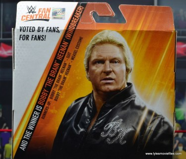 wwe fan central bobby heenan figure review - package voting poll results