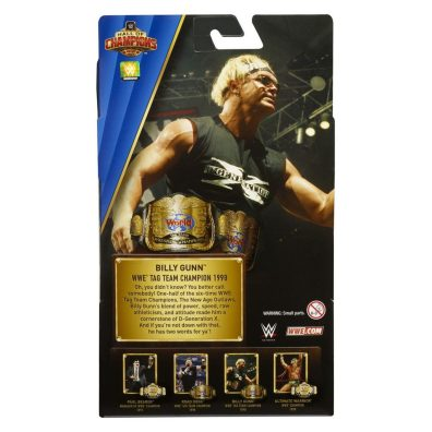 wwe hall of champions 3 - billy gunn package rear