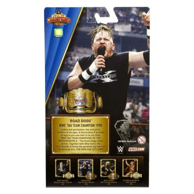 wwe hall of champions 3 - road dogg package rear