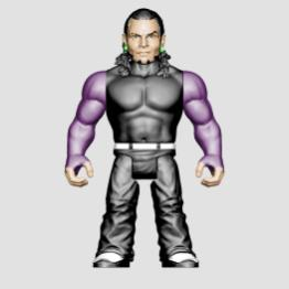 wwe sdcc18 reveals -jeff hardy retro