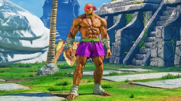 Street Fighter V Arcade Edition reveals Sagat - sagat battle costume