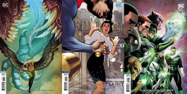 dc comics reviews 8/8/18
