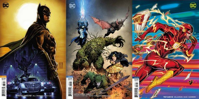 dc comics reviews 8/22/18
