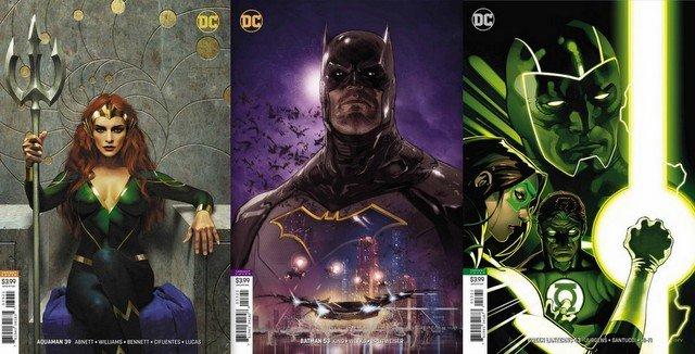 dc comics reviews for 8/15/18