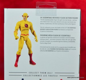 dc essentials reverse-flash figure flash - bio