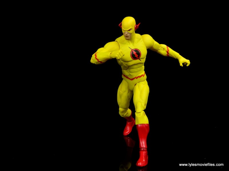 dc essentials reverse-flash figure flash - running