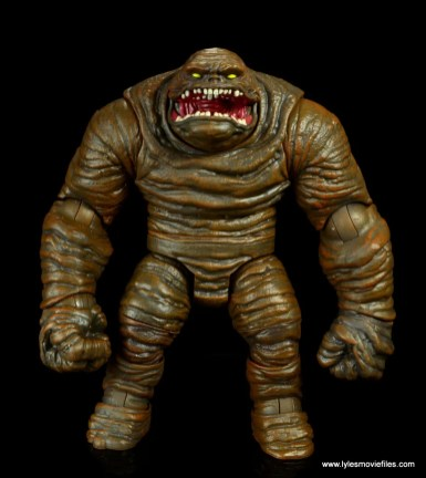 dc multiverse collect and connect clayface figure review -front